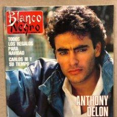 Colecionismo de Revistas Preto e Branco: BLANCO Y NEGRO N° 3624 (1988). ANTHONY DELON, FERNANDO MARTÍN (BALONCESTO), FEDERICO JIMÉNEZ LOSANTO. Lote 251047705