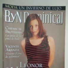 Colecionismo de Revistas Preto e Branco: B Y N DOMINICAL Nº 63 DE 13/01/2002. Lote 252968860