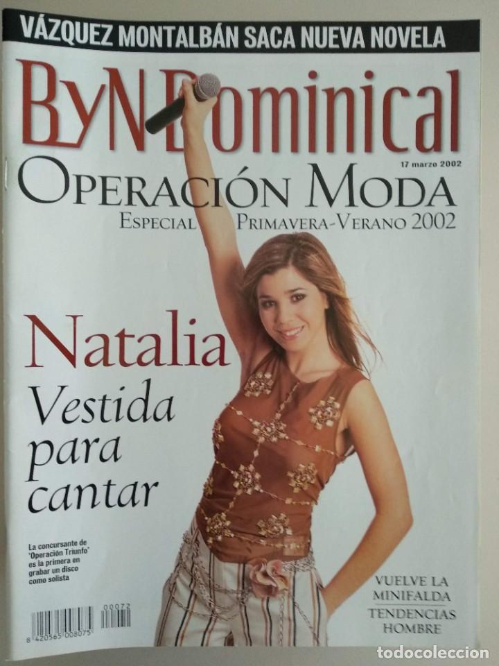 B Y N DOMINICAL Nº 72 DE 17/03/2002 (Coleccionismo - Revistas y Periódicos Modernos (a partir de 1.940) - Blanco y Negro)