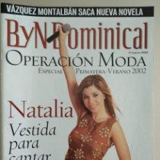 Coleccionismo de Revista Blanco y Negro: REVISTA B Y N DOMINICAL Nº 72 DE 17/03/2002. Lote 252969775