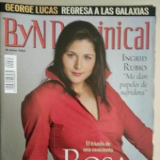 Coleccionismo de Revista Blanco y Negro: REVISTA B Y N DOMINICAL Nº 81 DE 19/05/2002. Lote 252970470