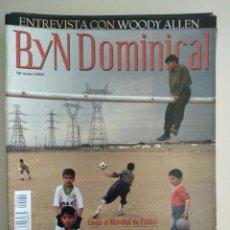 Coleccionismo de Revista Blanco y Negro: REVISTA B Y N DOMINICAL Nº 82 DE 26/05/2002. Lote 252970570