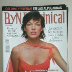 Collectionnisme de Magazine Blanco y Negro: B Y N DOMINICAL Nº 89 DE 14/07/2002. Lote 252971100