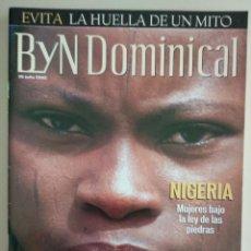 Coleccionismo de Revista Blanco y Negro: REVISTA B Y N DOMINICAL Nº 91 DE 28/07/2002. Lote 252971245