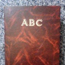 Coleccionismo de Revista Blanco y Negro: ABC CULTURAL 1993 Y 1994, 18 NÚMEROS, DESDE EL NUM 72 19/03/93 AL NUM 125 25/03/94 ENCUADERNADO. Lote 255338990