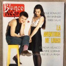 Coleccionismo de Revista Blanco y Negro: BLANCO Y NEGRO N° 3644 (1989). COQUE MALLA, CONCHA VELASCO, NINA, KIM BASINGER, ASPAR, LAS VIRTUDES. Lote 255566175