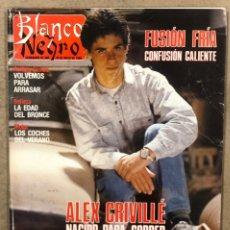 Coleccionismo de Revista Blanco y Negro: BLANCO Y NEGRO N° 3648 (1989). ÀLEX CRIVILLÉ, ROLLING STONES, LYDIA BOSCH, JULIO IGLESIAS, SOFIA LOR. Lote 255567290