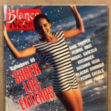 Coleccionismo de Revista Blanco y Negro: BLANCO Y NEGRO N° 3649 (1989). PALOMA SAN BASILIO, JANE FONDA, SUZANNE VEGA, GOMA ESPUMA,.... Lote 255570910