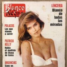 Coleccionismo de Revista Blanco y Negro: BLANCO Y NEGRO N° 3632 (1989). EMILIO BUTRAGUEÑO, CRUYFF, KETAMA, OUKA LELE, CONCHA VELASCO,.... Lote 255573160