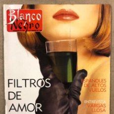 Coleccionismo de Revista Blanco y Negro: BLANCO Y NEGRO N° 3633 (1989). PACO BUYO, DANZA INVISIBLE, ARANTXA ARGÜELLES, VARGAS LLOSA. Lote 255573650