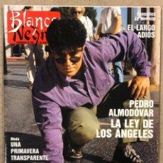 Coleccionismo de Revista Blanco y Negro: BLANCO Y NEGRO N° 3636 (1989). PEDRO ALMODÓVAR, LOS RONALDOS, CRISTINA HIGUERAS, ANTONIO PEDRERA,.... Lote 255574085