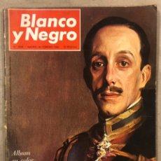 Coleccionismo de Revista Blanco y Negro: BLANCO Y NEGRO N° 2808 (1966). ANIVERSARIO MUERTE ALFONSO XIII. ÁLBUM EN COLOR DEL REINADO.. Lote 255576600