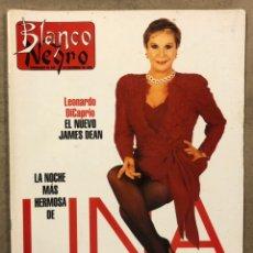 Coleccionismo de Revista Blanco y Negro: BLANCO Y NEGRO N° 3991 (1995). LINA MORGAN, LEONARDO DICAPRIO, MARÍA ABRADELO, TRACY CHAPMAN,. Lote 255577055