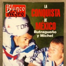Coleccionismo de Revista Blanco y Negro: BLANCO Y NEGRO N° 4025 (1996). BUTRAGUEÑO Y MICHEL A MÉXICO, LOLA FORNER, CARMELO GÓMEZ,..... Lote 255577480