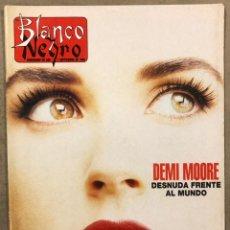 Coleccionismo de Revista Blanco y Negro: BLANCO Y NEGRO N° 4027 (1996). DEMI MOORE, ESPARTACO, PALOMA SAN BASILIO, ROSARIO, REM, ÀLEX SERNA,. Lote 255578080