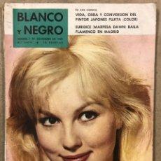 Coleccionismo de Revista Blanco y Negro: BLANCO Y NEGRO N° 2479 (1959). EURIDICE (MARPESA DAWN) BAILA FLAMENCO EN MADRI, FUJITA,.... Lote 255578650