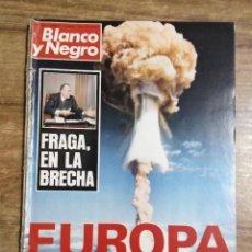 Coleccionismo de Revista Blanco y Negro: MFF.- REVISTA BLANCO Y NEGRO.- Nº 3376 DE 15 ENERO 1977.- GENTE: NIEVES SALCEDO: YO NUNCA HE. Lote 255591580