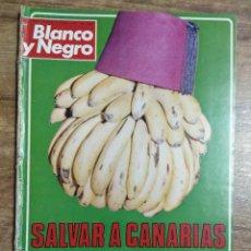 Coleccionismo de Revista Blanco y Negro: MFF.- REVISTA BLANCO Y NEGRO.- Nº 3375 DE 8 ENERO 1977.- GENTE: ISABEL BORONDO, NO ME VEO COMO. Lote 255595050