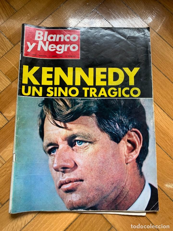 BLANCO Y NEGRO Nº 2928 - KENNEDY: UN SINO TRÁGICO (Coleccionismo - Revistas y Periódicos Modernos (a partir de 1.940) - Blanco y Negro)