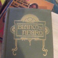 Collectionnisme de Magazine Blanco y Negro: BLANCO Y NEGRO 1958 MESES MARZO Y ABRIL ENCUADERNADOS Nº 2391 AL 2399. Lote 260553530