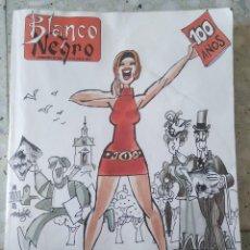 Coleccionismo de Revista Blanco y Negro: BLANCO Y NEGRO. SEMANARIO DE ABC 12 DE MAYO 1991. Nº 3750. 100 AÑOS. LUCA DE TENA. Lote 261252670