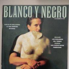 Coleccionismo de Revista Blanco y Negro: REVISTA BLANCO Y NEGRO 07/12/1997. Lote 261350275
