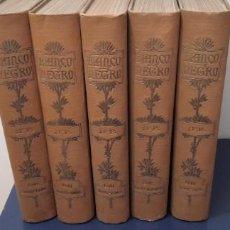 Coleccionismo de Revista Blanco y Negro: REVISTA BLANCO Y NEGRO ☆ 5 LIBROS ☆ 10 MESES DEL ANO 1961 ☆. Lote 261572680