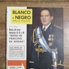 Coleccionismo de Revista Blanco y Negro: MFF.- REVISTA BLANCO Y NEGRO.- Nº 2600 DE 3 MARZO 1962.- LO QUE PARIS HA VISTO DE GOYA. REPORTAJE. Lote 262049560