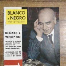 Coleccionismo de Revista Blanco y Negro: MFF.- REVISTA BLANCO Y NEGRO.- Nº 2604 DE 31 MARZO 1962.- LA CHUNGA A LA CONQUISTA DEL BOULEVARD.-. Lote 262118025