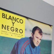 Coleccionismo de Revista Blanco y Negro: BLANCO Y NEGRO Nº 2387 FEBRERO 1958 PORTADA KUBALA REVISTA SEMANAL ILUSTRADA.BUEN ESTADO. Lote 262171325