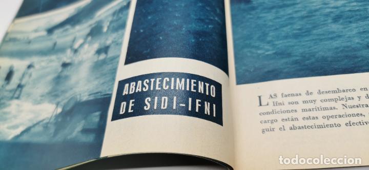 Coleccionismo de Revista Blanco y Negro: Reportaje grafico Blanco y Negro Africa Occidental Española Coronel Mulero-El Aaiun-Sidi-Ifni 1958 - Foto 8 - 262184860