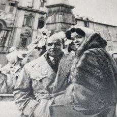 Coleccionismo de Revista Blanco y Negro: ENTREVISTA A SARITA MONTIEL POR CORTES CAVANILLAS EN ROMA AÑO 1958 3 HOJAS. Lote 262198175