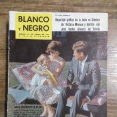 Coleccionismo de Revista Blanco y Negro: MFF.- REVISTA BLANCO Y NEGRO.- Nº 2542 DE 21 ENERO 1961.- BALTASAR CANESTRO, ARQUITECTO CORTESANO EN. Lote 262782830