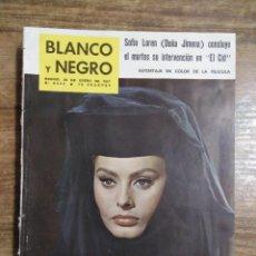 Coleccionismo de Revista Blanco y Negro: MFF.- REVISTA BLANCO Y NEGRO.- Nº 2543 DE 28 ENERO 1961.- SOFIA LOREN Y CHARLTON HESTON CONCLUYEN. Lote 262785890