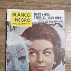 Coleccionismo de Revista Blanco y Negro: MFF.- REVISTA BLANCO Y NEGRO.- Nº 2545 DE 11 FEBRERO 1961.- LA EXPOSICION TRICENTENARIA DE VELAZQUEZ. Lote 262790815