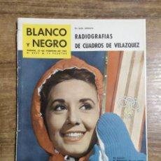 Coleccionismo de Revista Blanco y Negro: MFF.- REVISTA BLANCO Y NEGRO.- Nº 2547 DE 25 FEBRERO 1961.- EL PINTOR H.H. DE CAVIEDES HA VUELTO A. Lote 262796605
