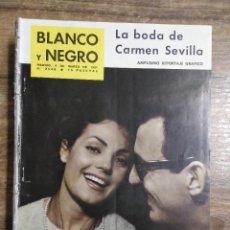 Coleccionismo de Revista Blanco y Negro: MFF.- REVISTA BLANCO Y NEGRO.- Nº 2548 DE 4 MARZO 1961.- CARMEN SEVILLA DE ALGUERO. REPORTAJE. Lote 262797785