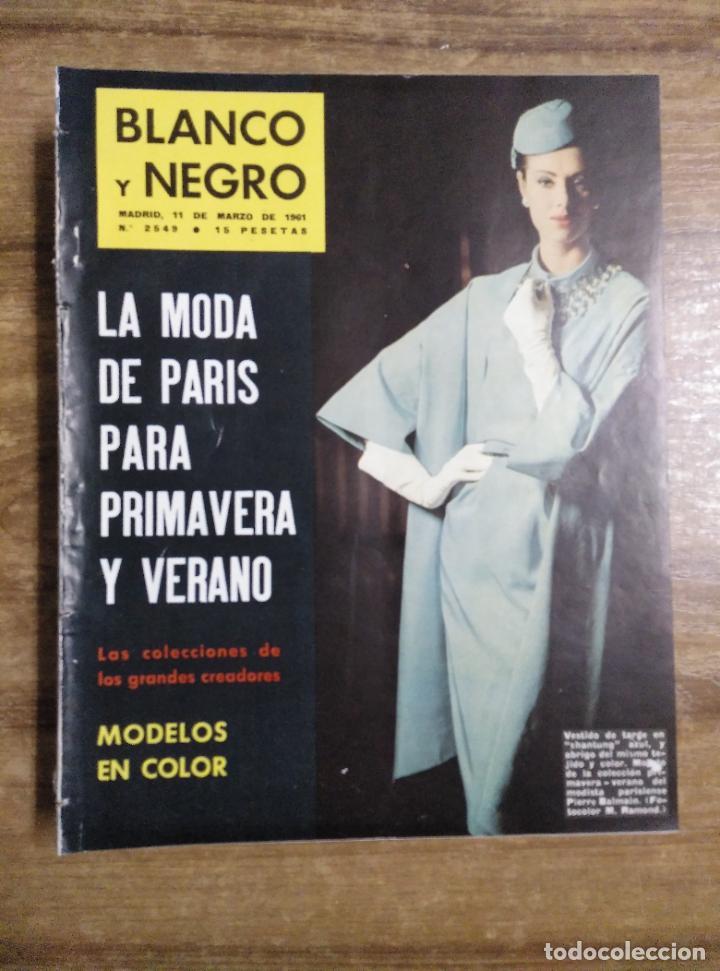 MFF.- REVISTA BLANCO Y NEGRO.- Nº 2548 DE 11 MARZO 1961.- HASSAN II, REY DE MARRUECOS. REPORTAJE EN (Coleccionismo - Revistas y Periódicos Modernos (a partir de 1.940) - Blanco y Negro)