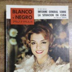 Coleccionismo de Revista Blanco y Negro: MFF.- REVISTA BLANCO Y NEGRO.- Nº 2550 DE 18 MARZO 1961.- CINE: ESTHER WILLIAMS, RUEDA EN ESPAÑA. Lote 262894950