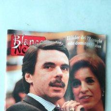 Coleccionismo de Revista Blanco y Negro: BLANCO Y NEGRO, AZNAR EL FINAL DE LA ESCALADA. 1996. Lote 262905560