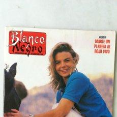 Coleccionismo de Revista Blanco y Negro: BLANCO Y NEGRO, LETICIA SABATER, ROSENDO, MIKE OLDFIELD,. Lote 262905920