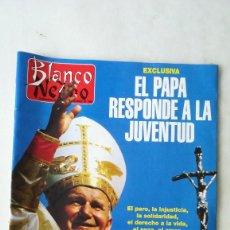 Coleccionismo de Revista Blanco y Negro: BLANCO Y NEGRO, JUAN PABLO II, MEG RYAN, EL ÚLTIMO DE LA FILA. 1995. Lote 262914295