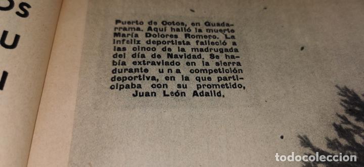 Coleccionismo de Revista Blanco y Negro: Tragedia en Guadarrama año 1962 esquiadora de 20 años fallece en plena sierra junto a su novio - Foto 4 - 262918760