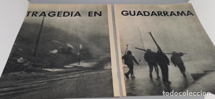 TRAGEDIA EN GUADARRAMA AÑO 1962 ESQUIADORA DE 20 AÑOS FALLECE EN PLENA SIERRA JUNTO A SU NOVIO (Coleccionismo - Revistas y Periódicos Modernos (a partir de 1.940) - Blanco y Negro)