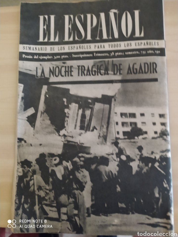 Coleccionismo de Revista Blanco y Negro: Revista Antigua El Español. Número 588.Año 1960 - Foto 2 - 263139125