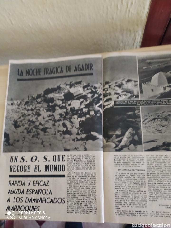 Coleccionismo de Revista Blanco y Negro: Revista Antigua El Español. Número 588.Año 1960 - Foto 4 - 263139125