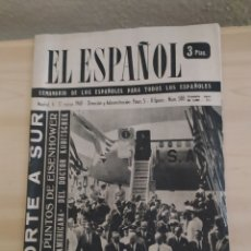 Coleccionismo de Revista Blanco y Negro: REVISTA ANTIGUA EL ESPAÑOL. NÚMERO 588.AÑO 1960. Lote 263139125