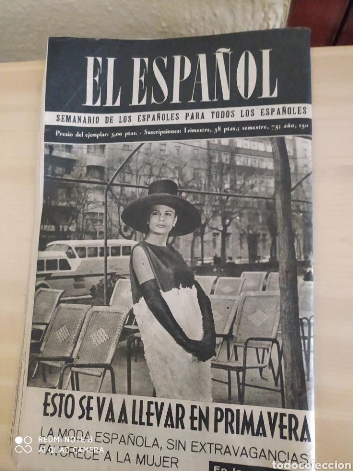 Coleccionismo de Revista Blanco y Negro: Revista Antigua El Español. Número 590. Año 1960 - Foto 2 - 263140610