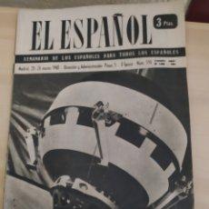 Coleccionismo de Revista Blanco y Negro: REVISTA ANTIGUA EL ESPAÑOL. NÚMERO 590. AÑO 1960. Lote 263140610