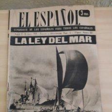 Coleccionismo de Revista Blanco y Negro: REVISTA ANTIGUA EL ESPAÑOL.. NÚMERO 484. AÑO1958. Lote 263141380
